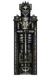 Fantazja wojownika statua Zdjęcia Royalty Free