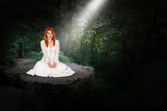 Fantazja, wyobraźnia, pokój, nadzieja, miłość fotografia stock