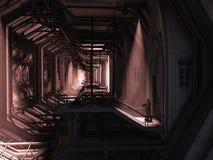 Fante di marina dello spazio - protezione sola Fotografia Stock Libera da Diritti