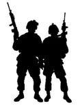 Fanti di marina degli Stati Uniti Immagini Stock