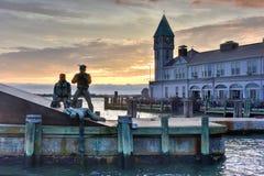 Fanti di marina mercantili americani commemorativi immagini stock