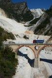 Fantiscritti marble quarry. Apuan alps. Massa and Carrara province. Tuscany. Italy Stock Photos