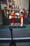 Fantoches de haste chineses (2øs UMNIMA) Foto de Stock Royalty Free
