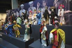 Fantoches de haste chineses (2øs UNIMA) Fotos de Stock Royalty Free
