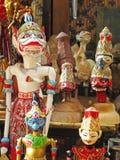 Fantoches de madeira Fotos de Stock Royalty Free