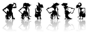 Fantoches indonésios Fotografia de Stock Royalty Free