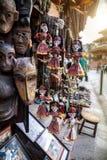 Fantoches no mercado do Nepali Fotografia de Stock Royalty Free