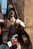 Fantoches sicilianos tradicionais Foto de Stock Royalty Free