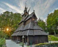 fantoft kościelna klepka zdjęcie royalty free