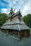 Fantoft Stave Church, Bergen, Norway Stock Photo