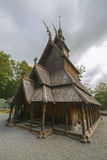 Fantoft Stave Church, Bergen, Norway Royalty Free Stock Photo