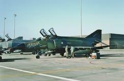 Fantom II 68-0392 för U.S.A.F. McDonnell F-4E Fotografering för Bildbyråer