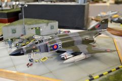 A4 fantomu model Zdjęcie Stock
