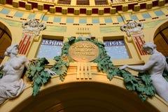 Fantova kavarna - detalj för Praga materurbium Royaltyfri Foto