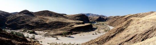 Fantrastic Namibia moonscape landscape Stock Image