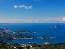 Fanzai Ao鱼港口,瑞芳,新的台北,台湾 库存图片