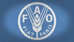 FAO flag Stock Photo