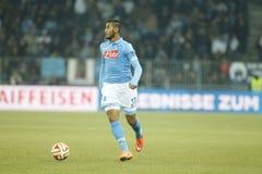 Faouzi Ghoulam Young Boys Berne v FC Naples Liga Europa Royalty Free Stock Image
