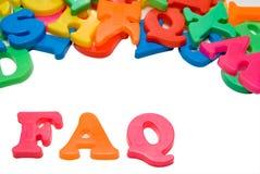 FAQ Imagens de Stock