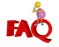 FAQ stock de ilustración
