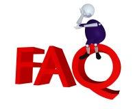 FAQ libre illustration