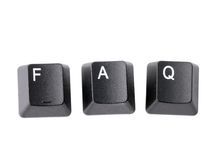 FAQ Stock Photos