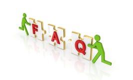 FAQ. Royalty Free Stock Photography