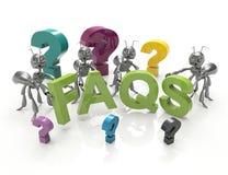 FAQ royalty illustrazione gratis