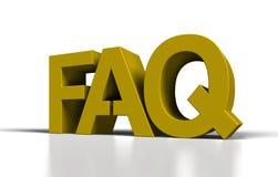 FAQ Images stock
