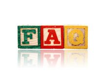 Faq Royalty Free Stock Photography