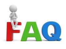 FAQ Zdjęcia Royalty Free