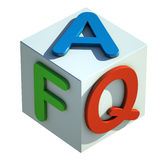 FAQ Acronym Royalty Free Stock Photos