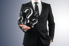 FAQ and ask concept royalty free stock photo
