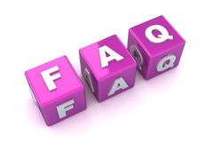 FAQ Concept Stock Photos