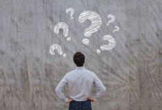 Faq concept, ask questions stock image
