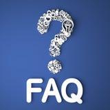 FAQ Concept. Stock Photography