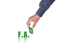 FAQ Concept Stock Photo
