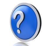 FAQ del punto interrogativo Fotografia Stock