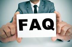 FAQ, Dobrowolnie Pytać pytanie zdjęcia royalty free