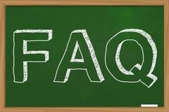 FAQ, Dobrowolnie Pytać pytanie Słowo typografii pojęcie zdjęcie royalty free