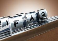 FAQ Stock Photography