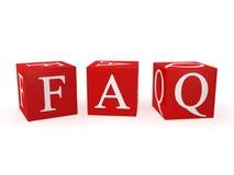 FAQ icon Stock Photography