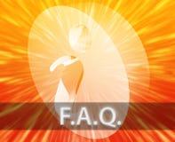 FAQ Information Stock Image