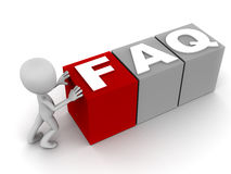 FAQ Lizenzfreie Stockbilder