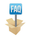 Faq panel Stock Images