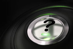 Faq, question mark Stock Photography