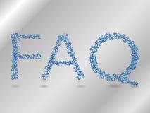 Faq Stock Photo