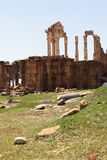 faqra Lebanon rzymskie ruiny świątynne Obraz Royalty Free