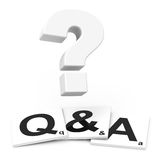 FAQs Royalty Free Stock Image