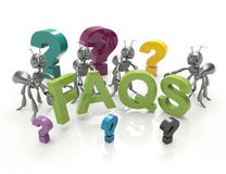 Faqs Royalty Free Stock Images